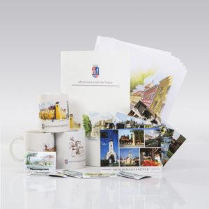 Mosonmagyaróvári ajándéktárgyak a Futura ajándékboltjában