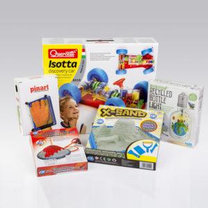 Tudományos játékok a Futura ajándékboltjában