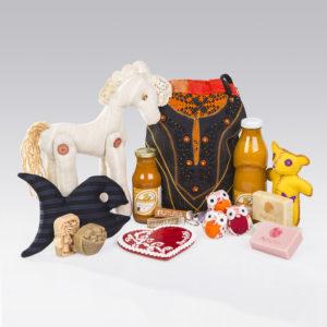 Szigetközi kézműves termékek a Futura ajándékboltjában