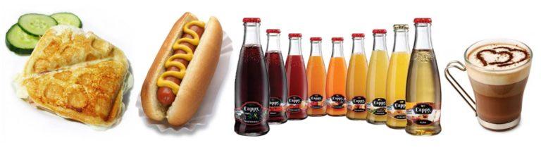 Futura büfé, melegszendvics, hotdog, kávé, üdítő