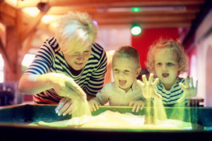 Okos homokozó, gyerekprogram, családi program